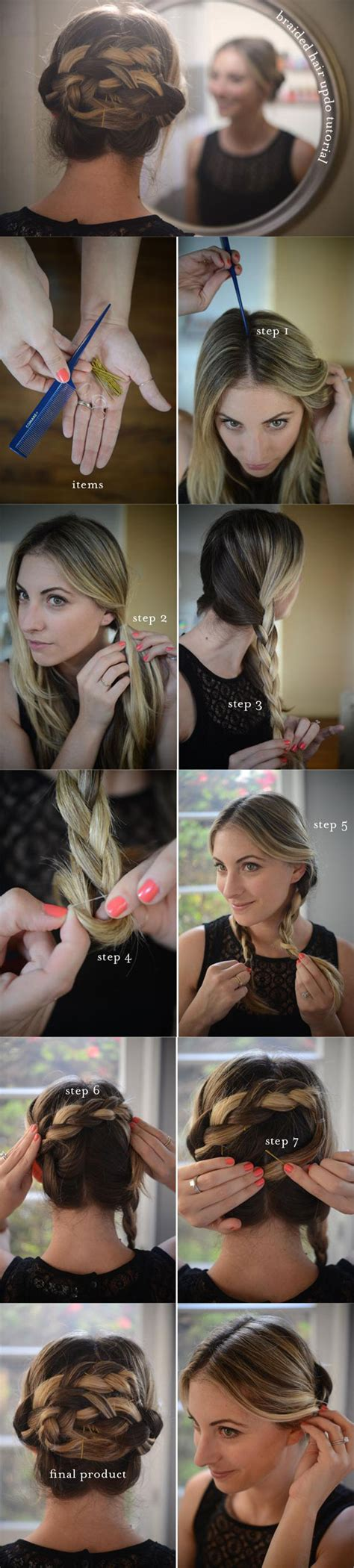 diy easy hairstyles step by step diy your step by step for the best cute hairstyles