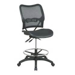 lowes office chairs shop office space seating black chrome contemporary