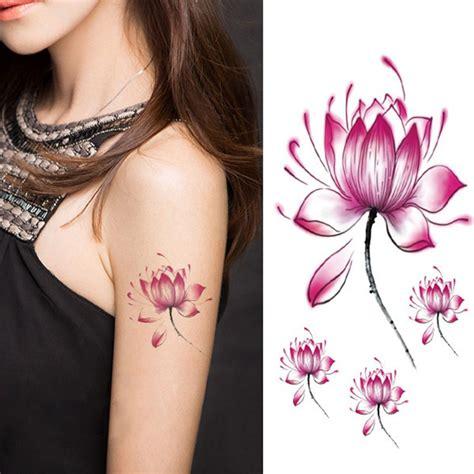 fiore di loto tatoo fiore di loto tatuaggi acquista a poco prezzo fiore di