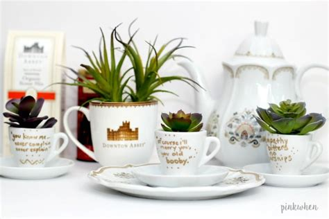 World Market Downton Abbey Sweepstakes - downton abbey teacup inspired diy pinkwhen