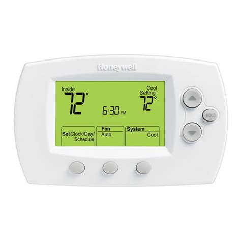 honeywell home comfort focuspro 6000 5 1 1 5 2 day programmable thermostat