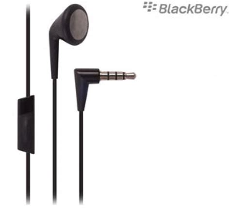 Headset Earphone Blackberry 1 blackberry mono headset 3 5mm with earphones