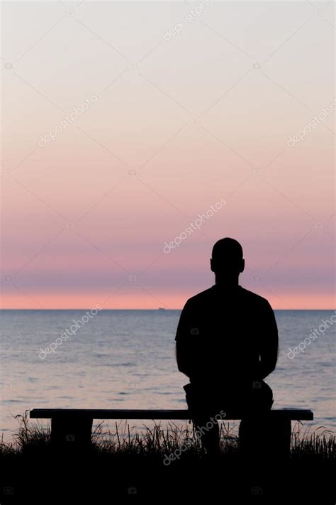 lonely man on bench lonely man on bench stock photo 169 bigandt 71711109