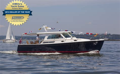portland boat dealers dimillo s wins sureshade 2013 dealer of the year for
