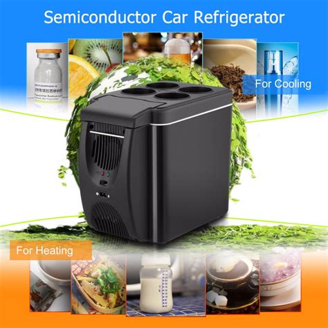 Crown Multifunction Warmer Car And Home 6l mini car fridge cooler warmer 2 in 1 multi function 12v travel refrigerator portable electric