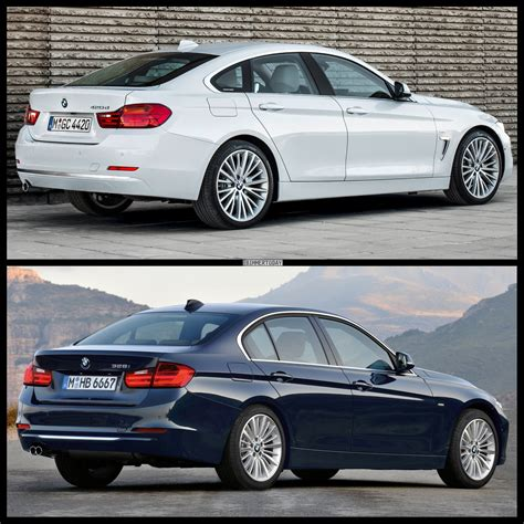 Bmw 3er Vs 4er Gran Coupe by Bmw Photo Gallery