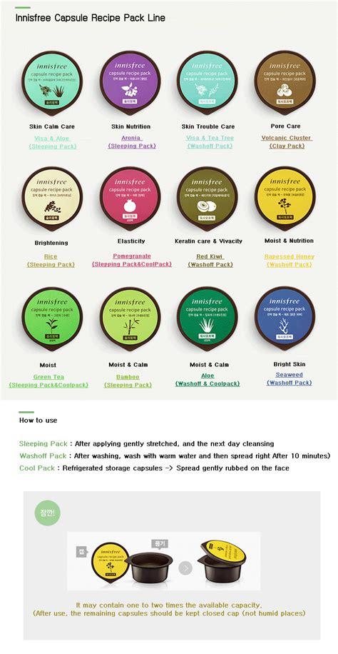 Innisfree Capsule Recipe Pack Innisfree Mask innisfree capsule recipe pack ibuybeauti
