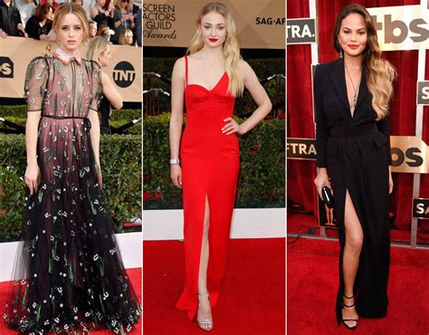 Screen Actors Guild Awards Best Dressed Carpet Fashion Awards by Sag Awards 2017 Carpet Galleries Pics
