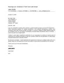 cold call cover letter exle 28 cold cover letter exles sle cold call cover