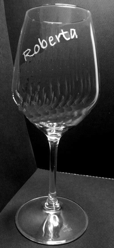 bicchieri vetro personalizzati bicchieri personalizzati con incisione a mano per la