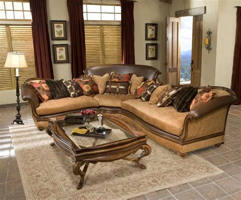 exposed wood frame sofa salvatore hand carved exposed wood frame sectional sofa