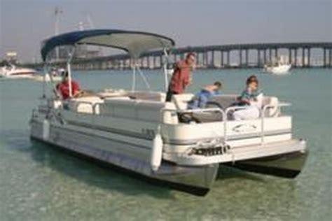 pontoon boats destin harbor destin pontoon rental companies anticipate busy 2012