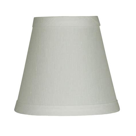 5 inch l shades urbanest off white pure linen hardback chandelier l