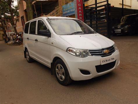 ls color 2013 chevrolet enjoy ls white color car for sales tamil
