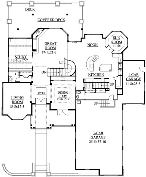 house plan with sunroom home design and style