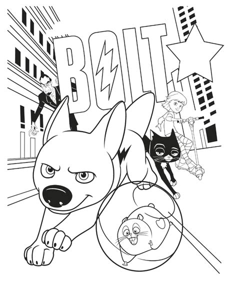 coloring pages of bolt the bolt coloring pages to print az coloring pages