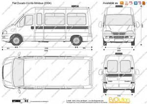 Fiat Ducato Lwb Dimensions The Blueprints Vector Drawing Fiat Ducato Combi