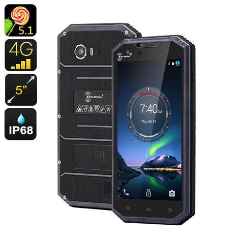 rugged android phone original kenxinda w7 ip68 waterproof mobile phone 4g rugged android smartphone ultra thin slim