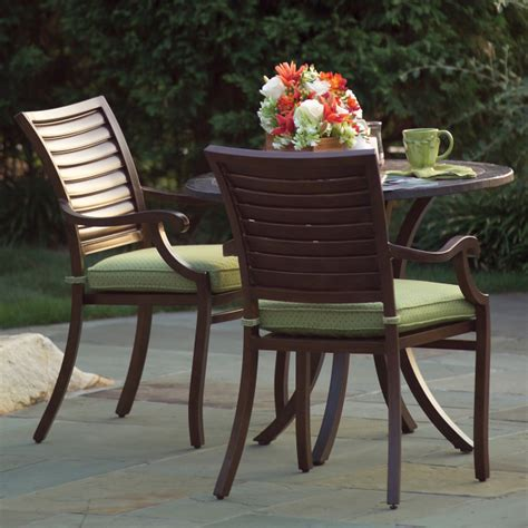 palm patio furniture palm outdoor dining patio furniture by summer classics family leisure