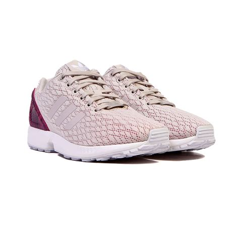 adidas zx flux shoes adidas zx flux pearl grey white s shoes b35318 ebay
