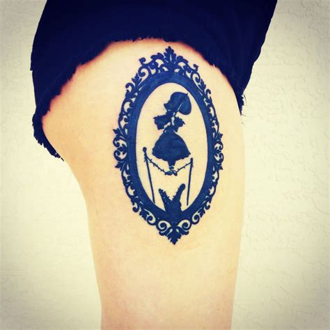 disney s haunted mansion stretching portrait tattoo