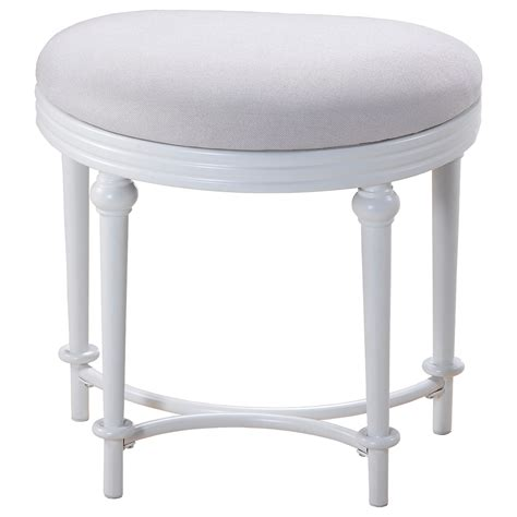 Vanity Seating by Hillsdale Vanity Stools Oval Vanity Stool With Upholstered