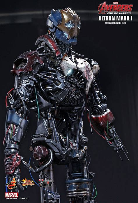 hot toys ultron hot toys ultron mark i from avengers age of ultron
