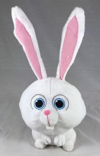 secret life  pets bunny snowball stuffed animal