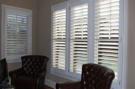 Home Blinds Clearview Plantation Shutters Traditional Home Office