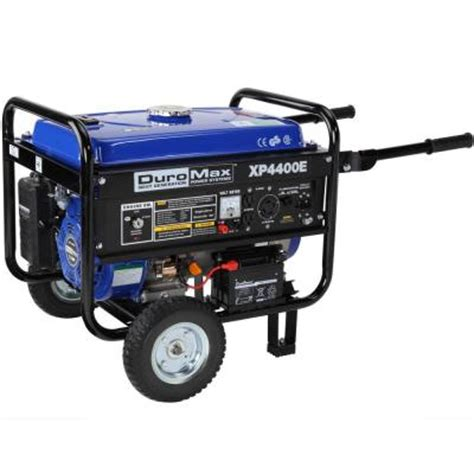 duromax 4 400 3 500 watt gasoline powered electric start