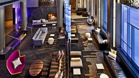 Living Room W Hotel Downtown Nyc W Hotel In New York City Design Contract