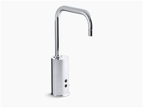 kohler touchless gooseneck deck mounted with temperature the 25 best commercial faucets ideas on pinterest