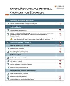 review forms for employees
