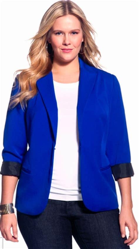 blazers for plus size s ideas modern