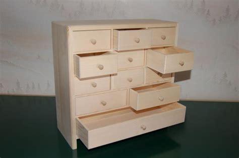 petit meuble de rangement 12 tiroirs en bois