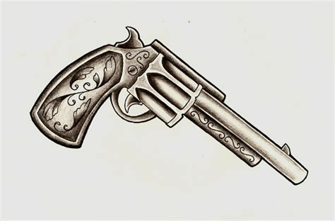 tattoo old school revolver collection of 25 colt pistol tattoo designs