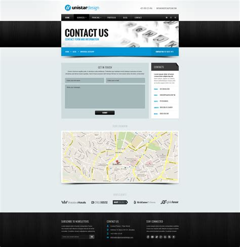 themeforest contact support unistar multipurpose responsive html5 template by klokyn