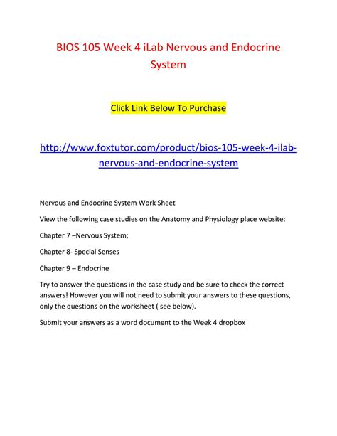 the special senses chapter 7 pages ppt download bios 105 week 4 ilab nervous and endocrine system by bios105ft issuu