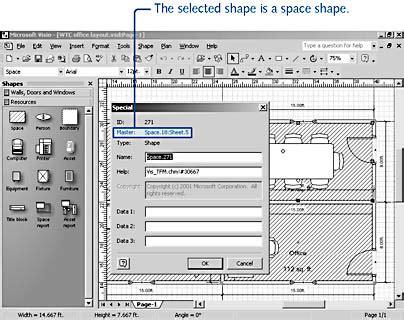 floor plan template visio images