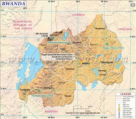 rwanda map rwanda map map of rwanda