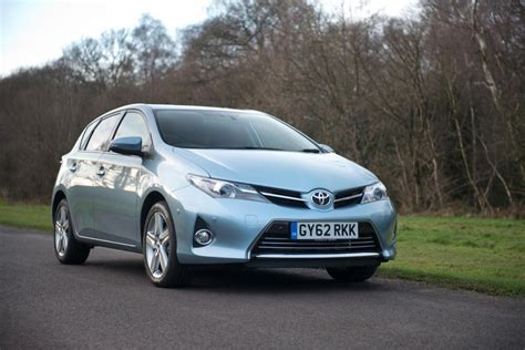 toyota family car rav4 and auris lead toyota family car range growth in