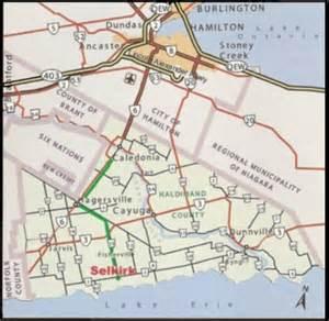 map selkirk ontario