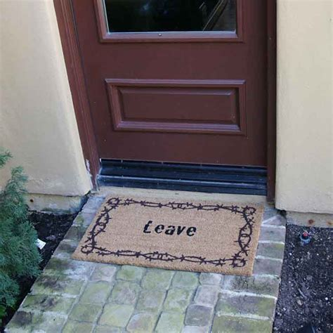 Leave Doormat Quot Leave Doormat Quot