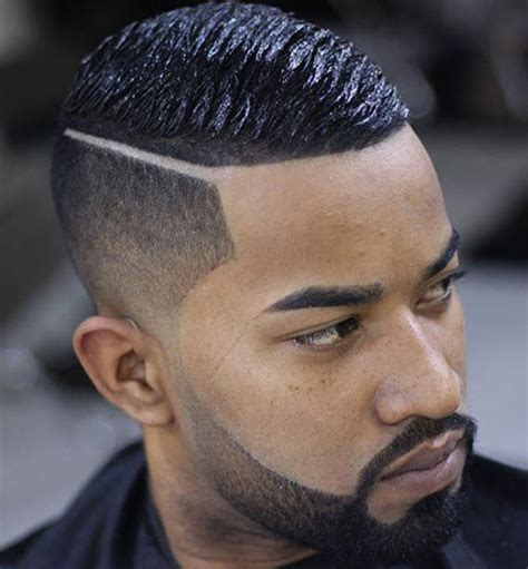 parted haircut male dark top 27 hairstyles for black men