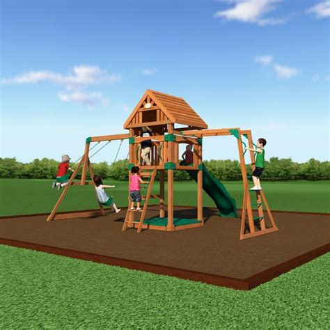 step 2 swing set assembly instructions capitol peak wooden swing set backyard discovery