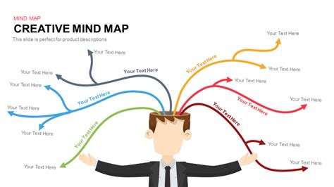 mind map template powerpoint free creative mind map powerpoint and keynote template