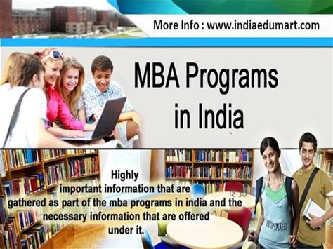 Mba Degree Programs In India by Mba Programs In India Authorstream