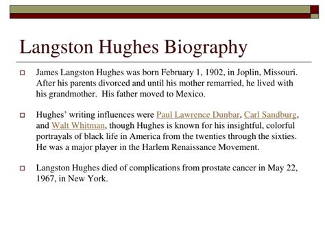 biography essay on langston hughes write my essay 100 original content paul lawrence