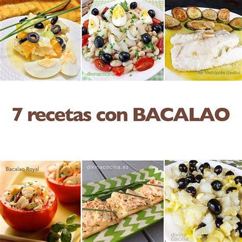 recetas de cocina con bacalao 7 recetas con bacalao divina cocina