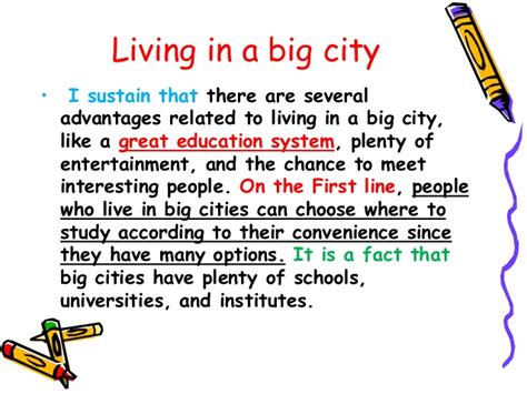 Living In A City Essay by Living In A Big Cities Essay